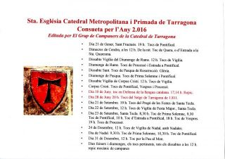 Consueta per l'Any 2016